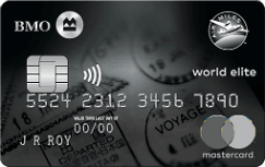 BMO® AIR MILES®† World Elite® Mastercard®