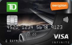TD Aeroplan Infinite Visa Card