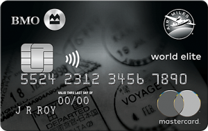 bmo air miles world elite mastercard.