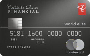 The President's Choice Financial World Elite Mastercard
