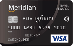 meridian infinite travel rewards visa
