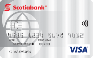 scotiabank no fee value visa
