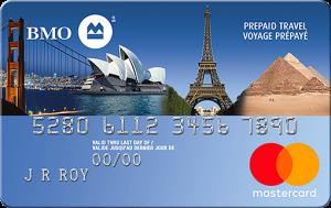 bmo prepaid travel mastercard