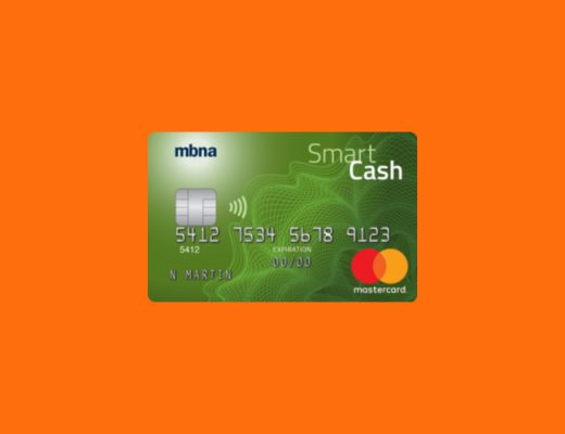 MBNA Smart Cash Platinum Plus
