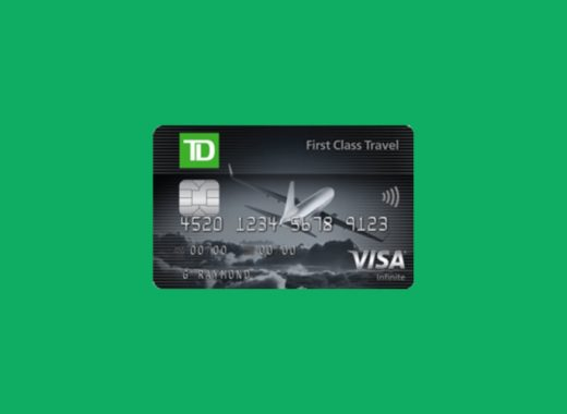 TD First Class Travel Visa Infinite