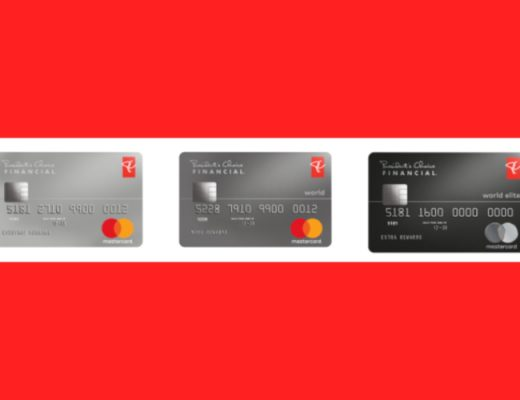pc financial mastercards