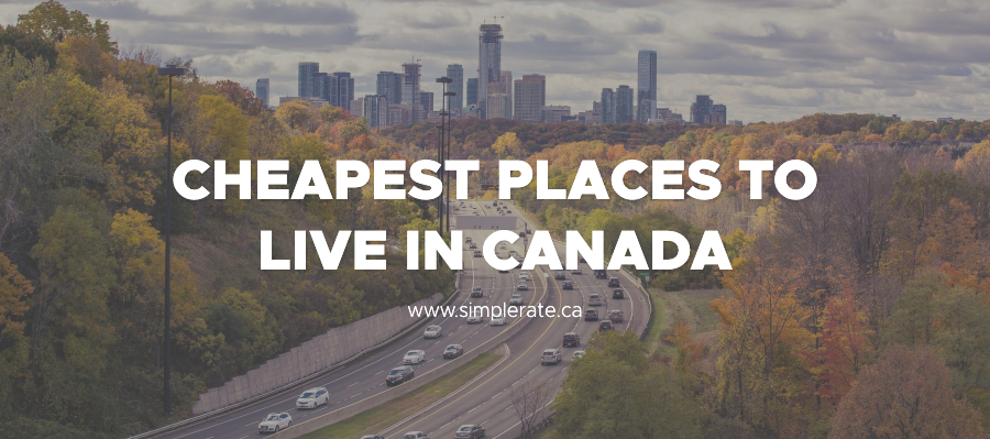 cheapest places to live in canada