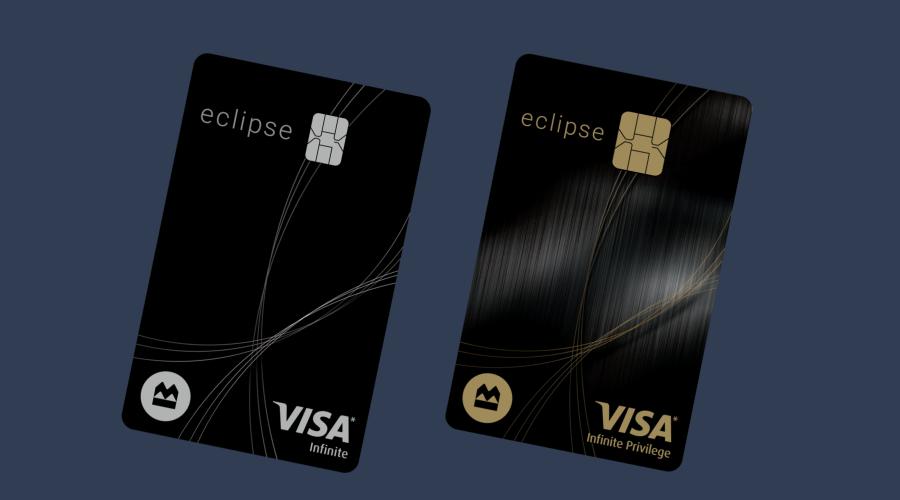 bmo eclipse visa cards