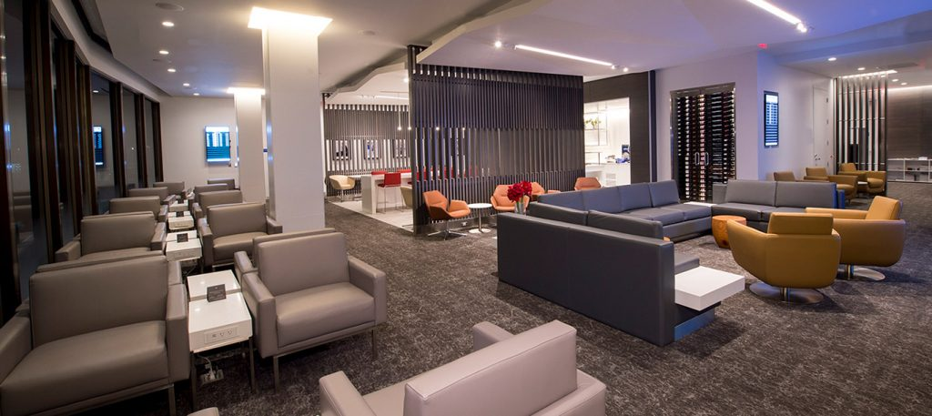 Air Canada's Maple Leaf Lounges